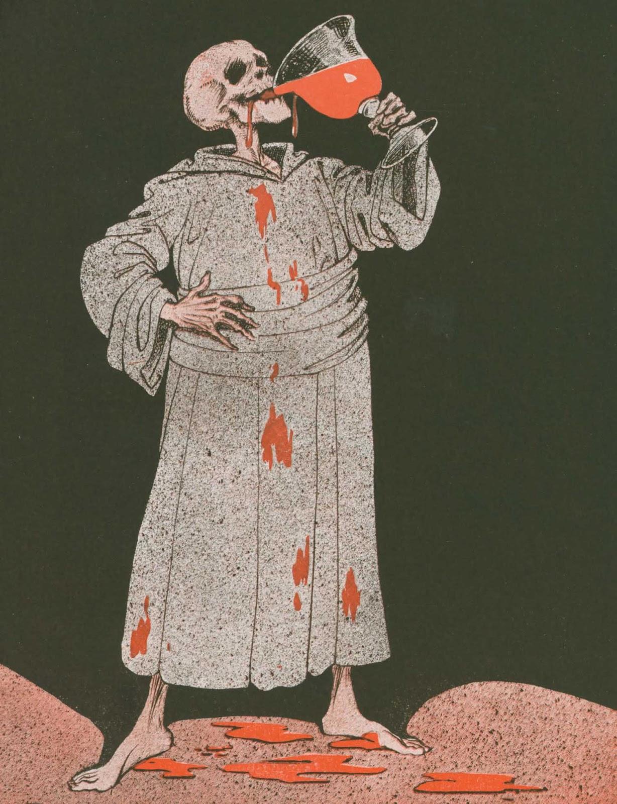 leprincelointain :    Louis Raemaekers (1869-1956), Un Toast à la Culture - 1916