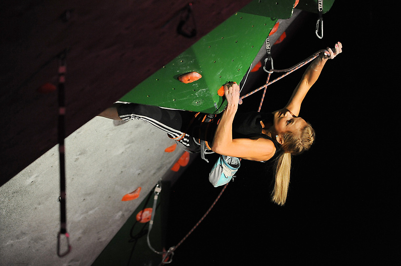 Sasha climbing her way to another National Championship title