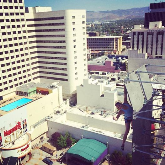 What's up, Reno? Just hanging out..