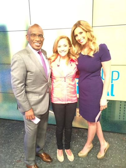 NBC Studio - I was on TV with these two :)