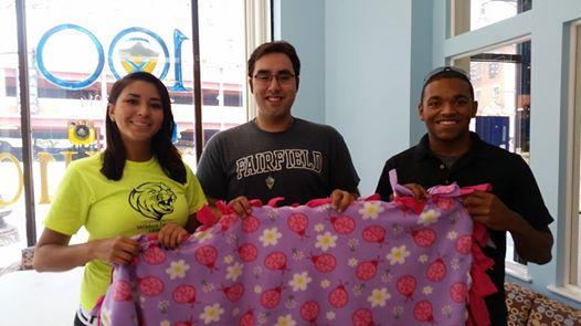 Thank You Johnson & Wales students and staff for helping make all the amazing blankets for HopeFullRI!