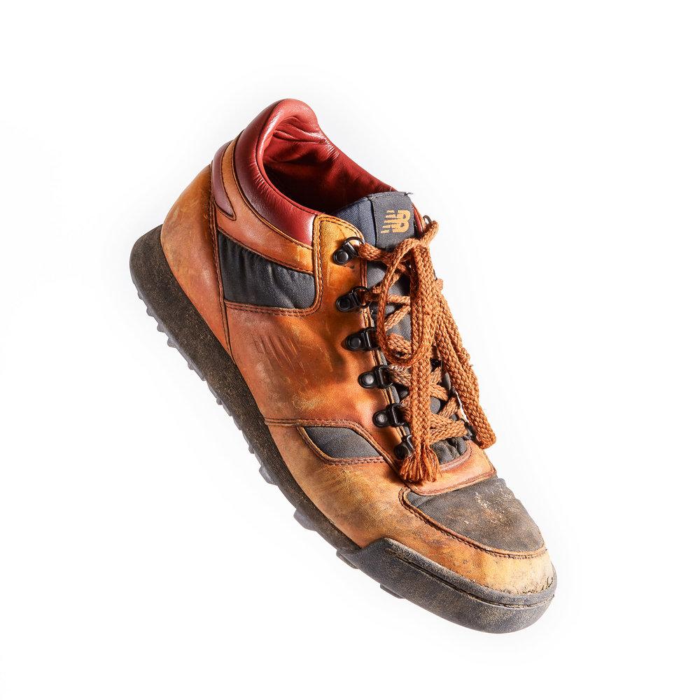 Lou Whittaker's prototype New Balance Rainier boots
