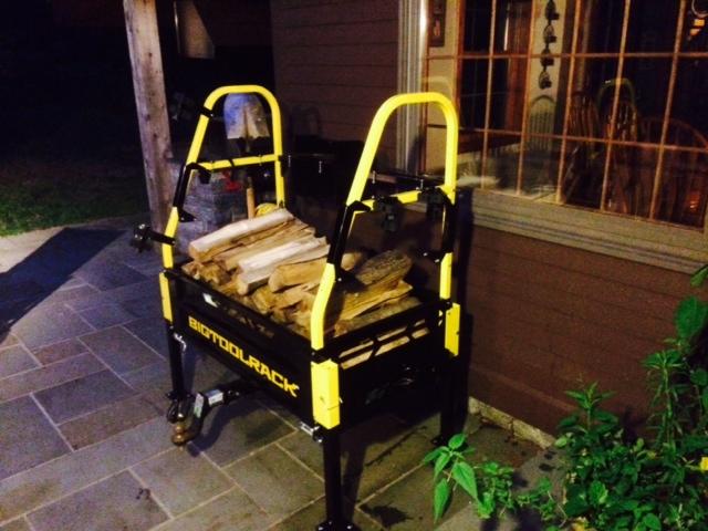 BigToolRack as a Firewood Cart