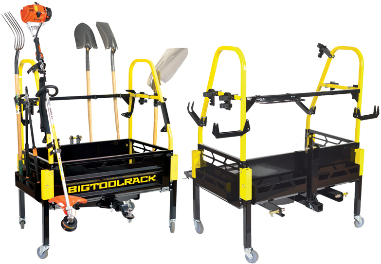 Tbn bigtoolrack for Small garden tool carrier
