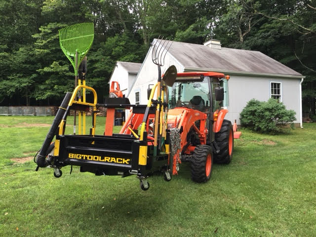 Bigtoolracks new Skid Steer quick connect attachment