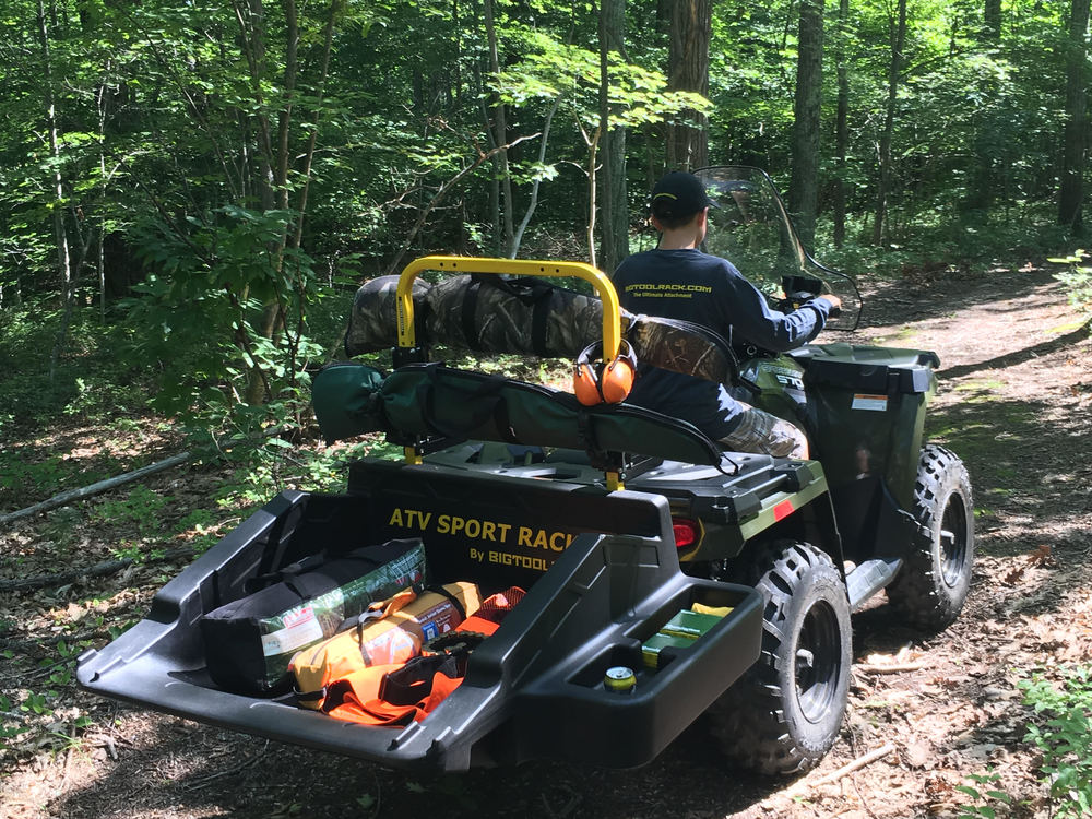NEW ATV Sport Rack By BIGTOOLRACK FOR ATV's Will be ready for Fall delivery Stay Tuned!