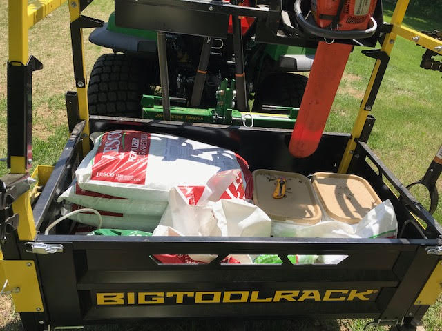 Bigtoolrack Carries a lot of stuff!
