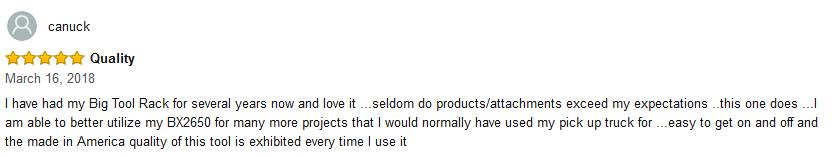 Bgitoolrack review