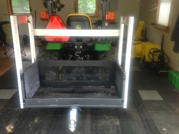 Bigtoolrack Prototype three point hitch tractor carry all