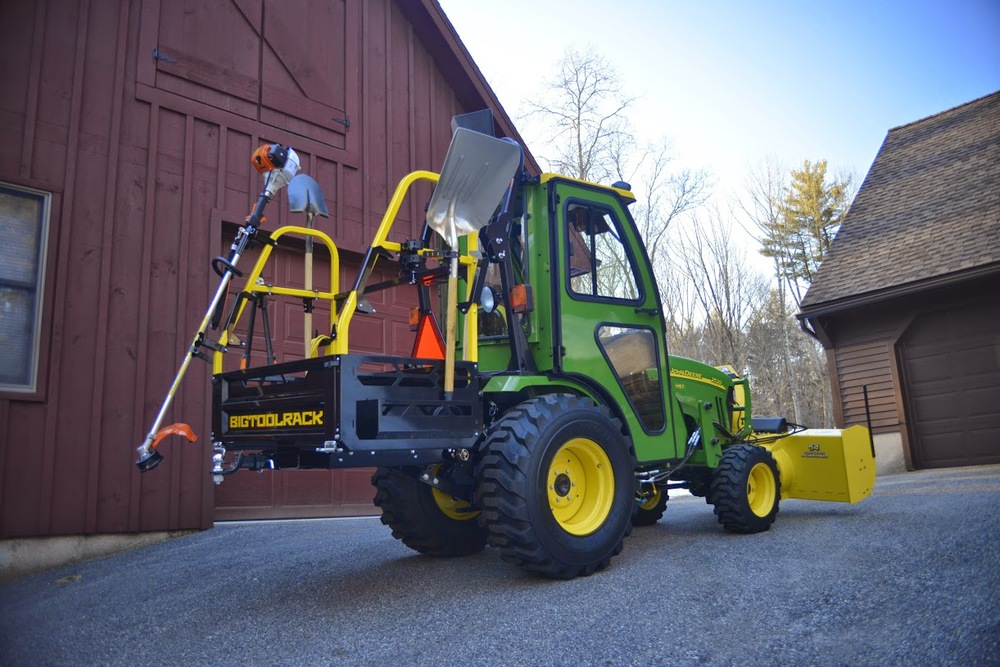 Bigtoolrack compact  tractor implement