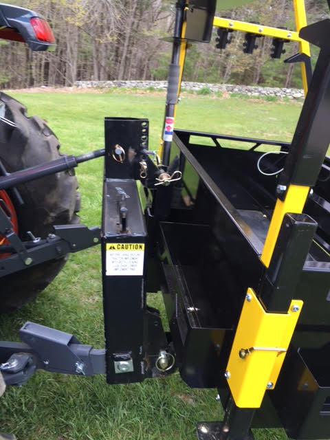 Bigtoolrack three point hitch carry all