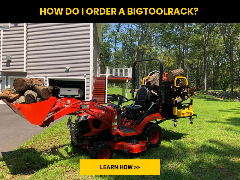 Bigtoolrack high quality tractor accessories