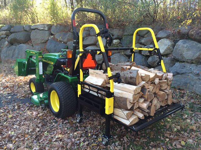 Bigtoolrack Ultimate Firewood Setup