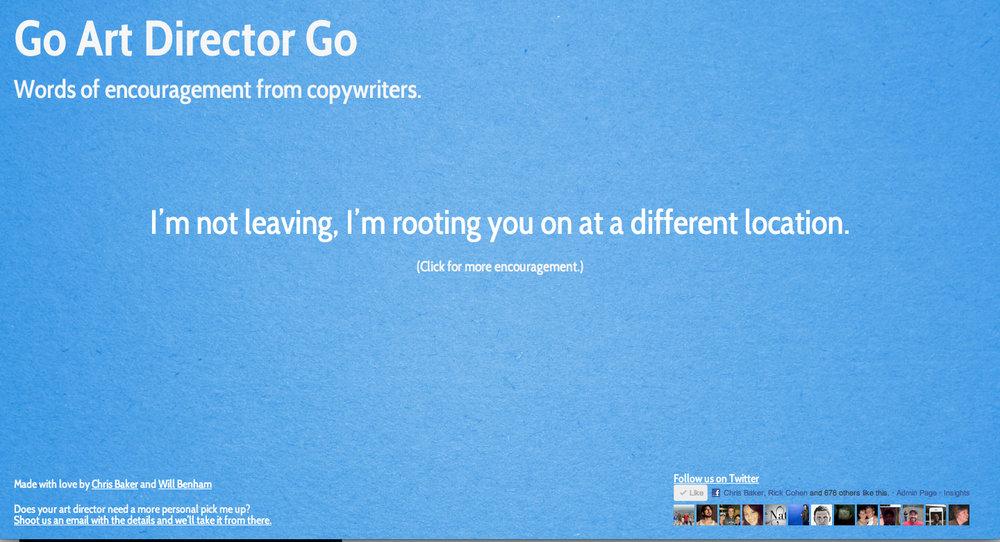 Go Art Director Go