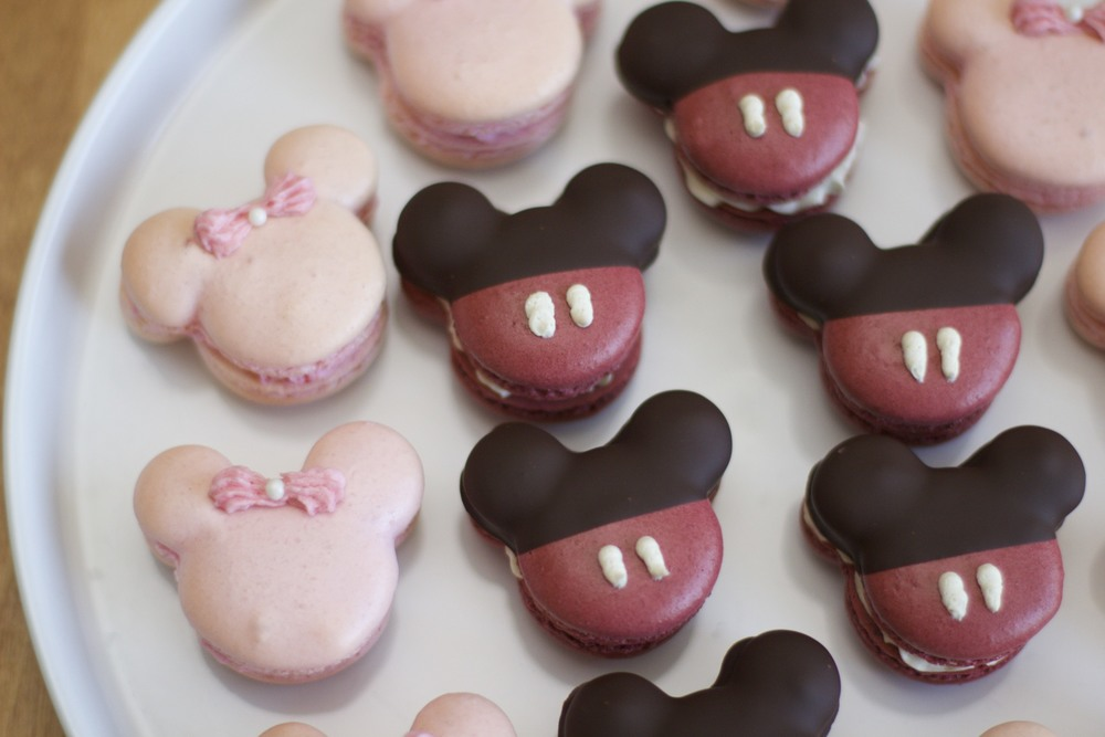 Mickey Mouse Macaron