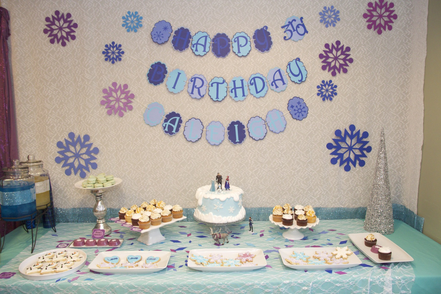 Caleighs Frozen Birthday Party