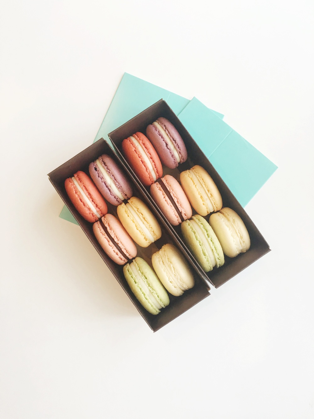 Macarons will be available every day in new fun flavors!