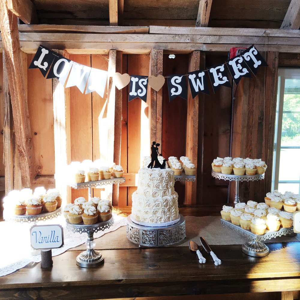 Rustic Dessert Table Setup