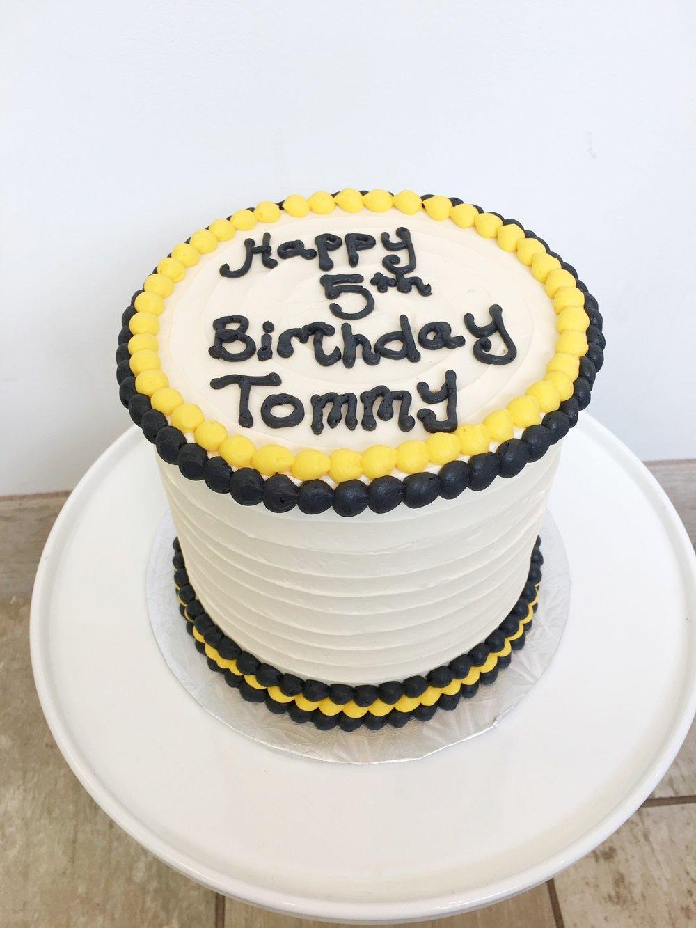 Birthday Cakes Amys Cupcake Shoppe