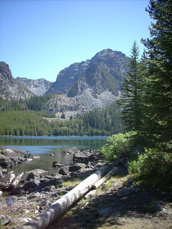 Baldy Lake outside Riggins Idaho