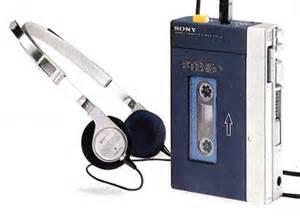 Sony Walkman circa 1979