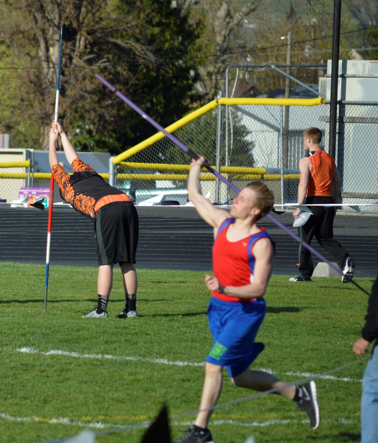 Javelin Thrower from St. John-Endicott