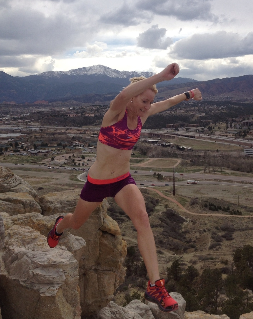 Emma Kraft Rock Hopping in the Garden of the Gods