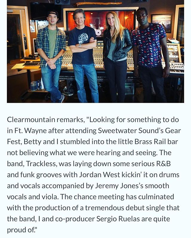 Thank you @music_connection for putting us and Blueberry Smoke on your homepage! If you want to read the full piece, the links in the bio.