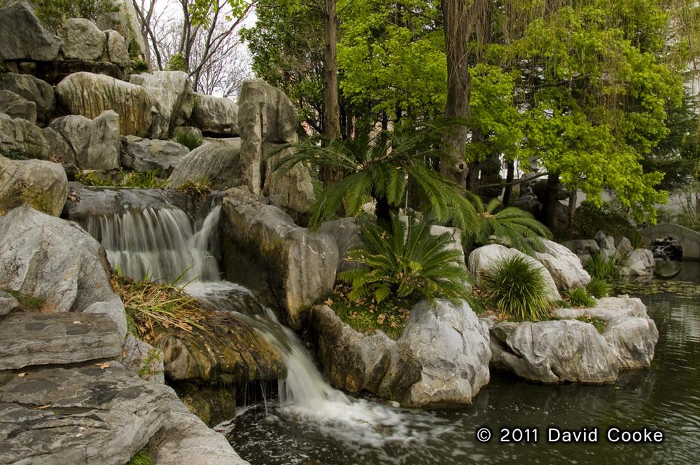DCooke - Chinese Garden Waterfall - 2011.jpg