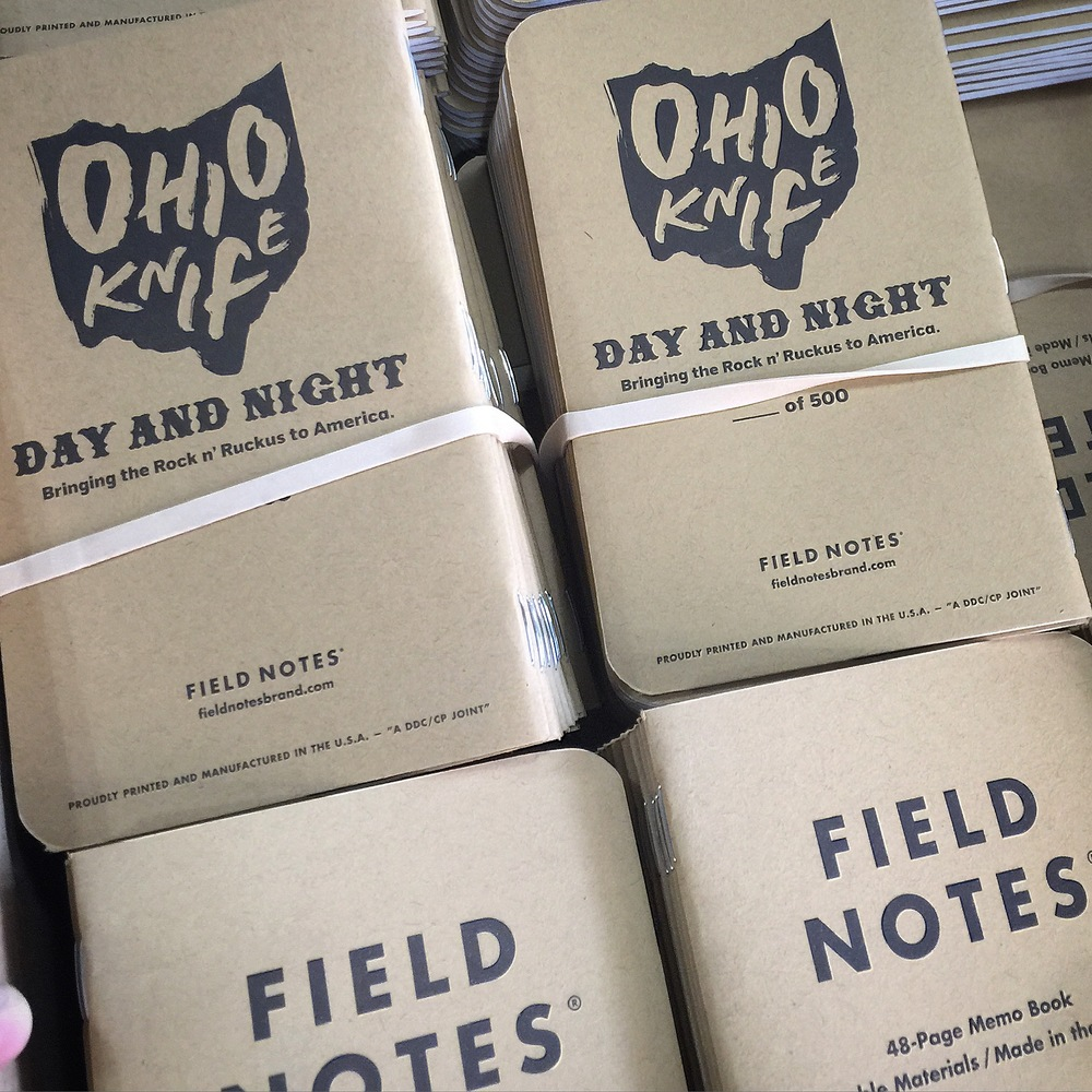 Here is a shot of the Field Notes we just got in the mail -- get your hands on one or 5 before they're gone!