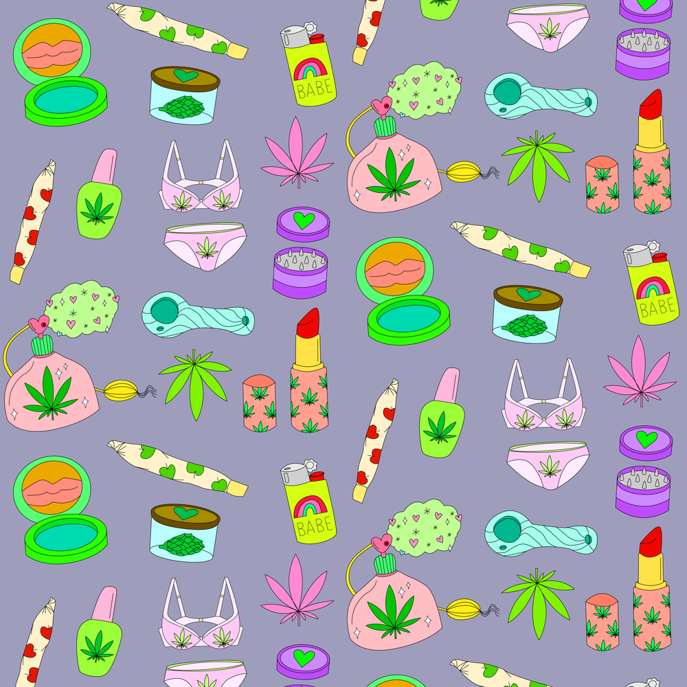 WEED BABE PATTERN
