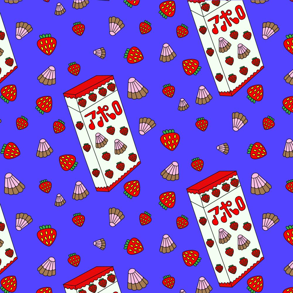 MEIJI STRAWBERRY CHOCO CANDY