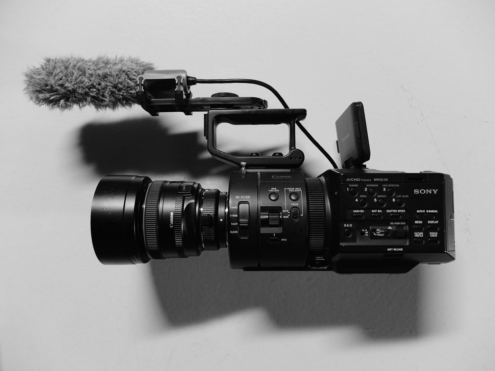 My baby, the Sony FS700