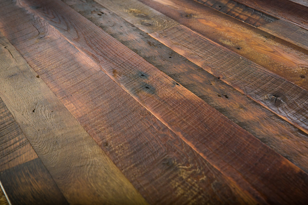 Reclaimed Sawmill Oak Distressed Patina Flooring
