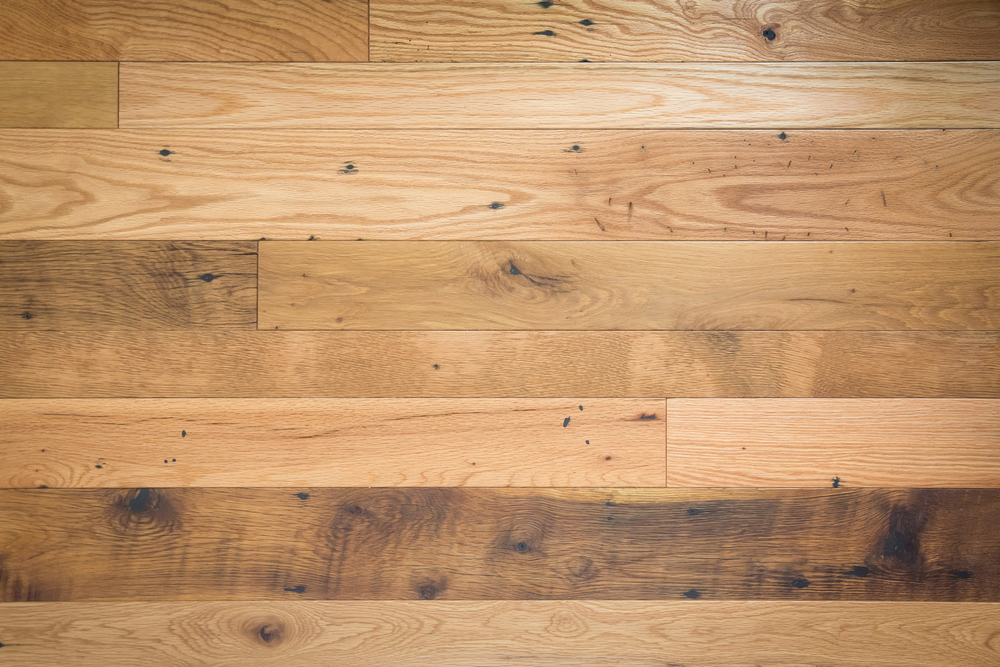 Heritage Oak with Oil Finish - Oil Vs. Poly: How Finish Effects The Look Of Your Reclaimed Wood