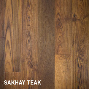 Reclaimed Wide Plank Sakhay Teak Interior Cladding / Paneling