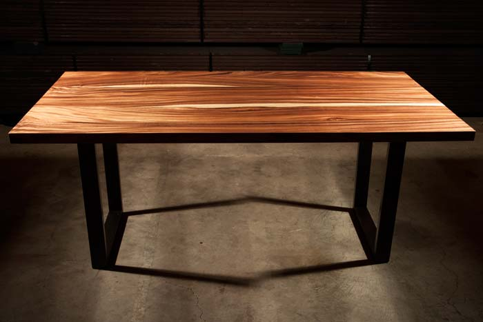 Acacia Wood Tables Orchard Salvage Live Edge Exotic Anthology Woods