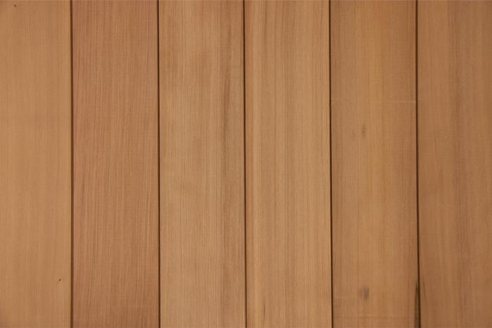 Rediscovered redwood salvaged redwood siding cladding for Wood grain siding panels