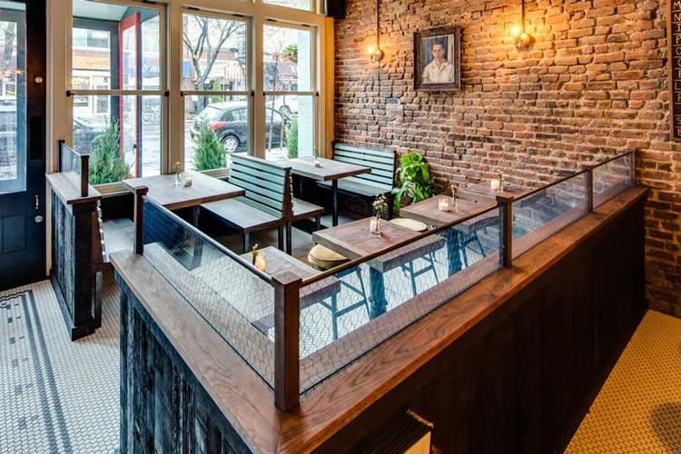 New York Pub Fsc Reclaimed Heritage Oak Flooring With Saw