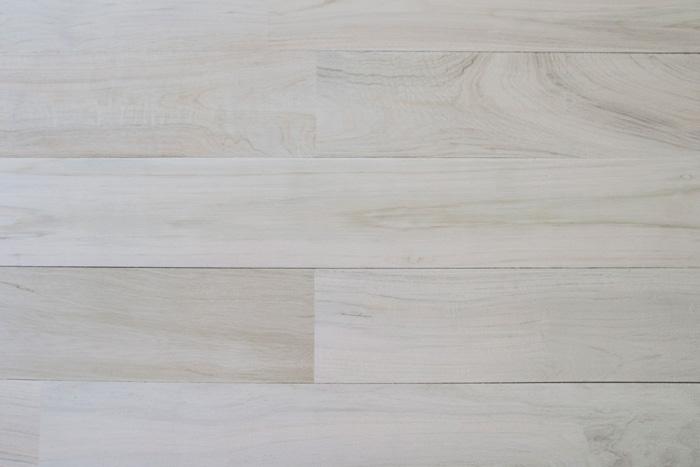 Project Log Custom White Washed Reclaimed Teak Wood Wall