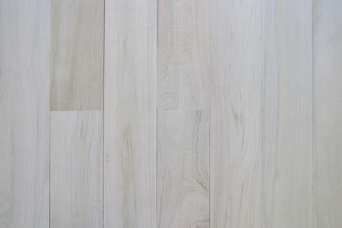Reclaimed white washed teak wall paneling siding
