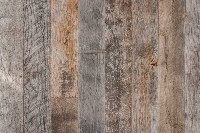 Weathered Wall Paneling : Grey medley reclaimed weathered wall paneling — anthology