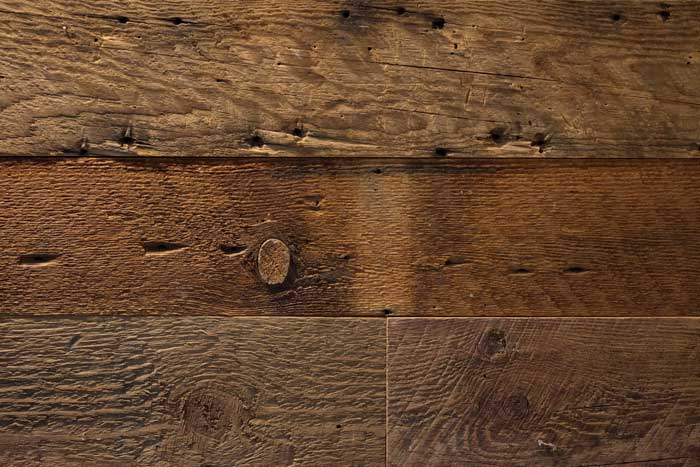 Reclaimed Rustic Wood Paneling In Guest Cottage