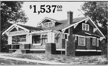 What a deal!  An early American Bungalow