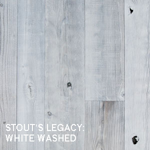 WHITE WASHED RECLAIMED WOOD PANELING