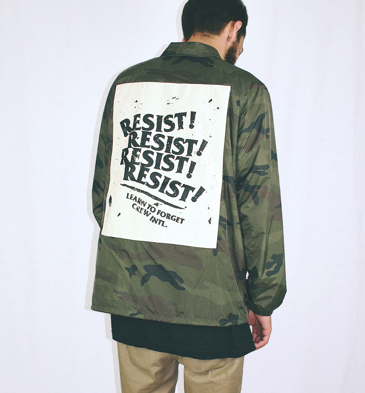 Resist The 45th Coach Jacket - FW17 PREORDER