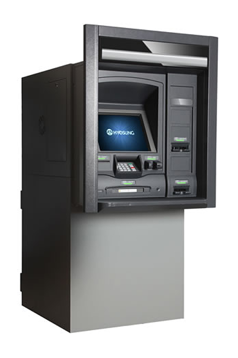 MX7600T  Through-the-Wall, Walk-up ATM