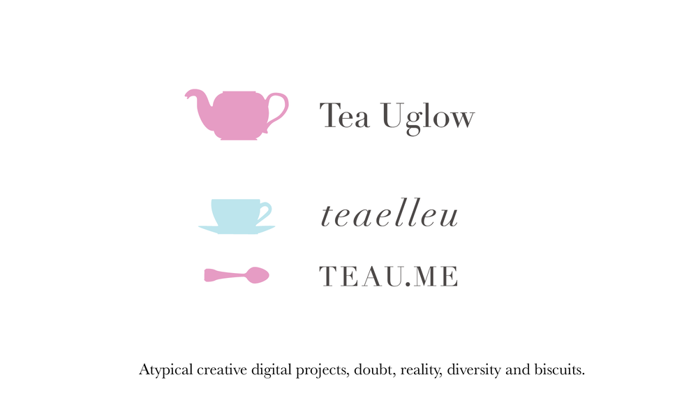 Tea Uglow, Google's Creative Lab, Sydney. Au. She writes, talks, arts, geeks, preens, parents and humans.
