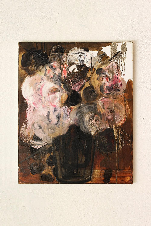 Palpable Poignancy, oil on canvas, 50 x 40 cm