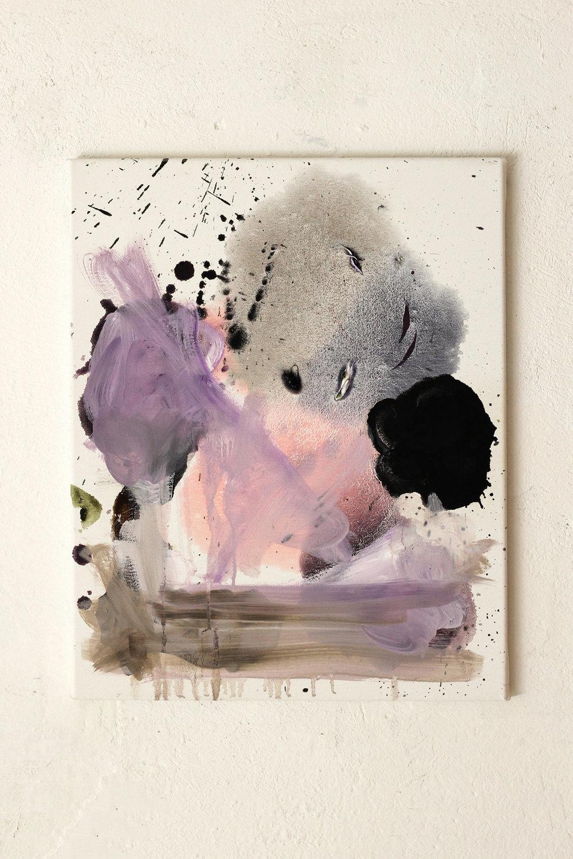 Seven Sufferings, oil on canvas, 50 x 40 cm